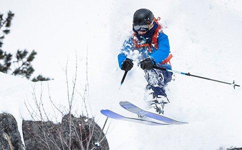 Skiing in Idaho