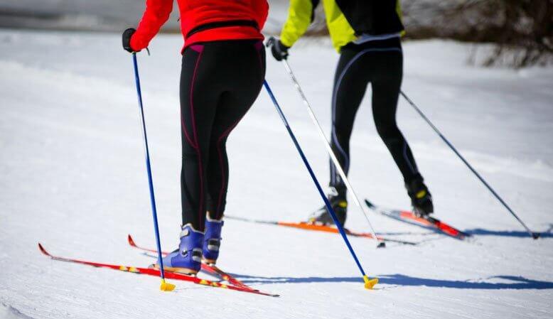 Nordic Skiing In Tamarack